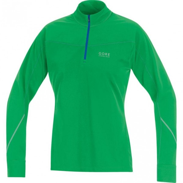 Gore running wear-ESSENTIAL THERMO LADY SHIRT