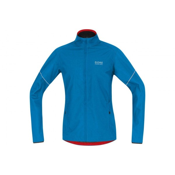 Gore running wear-ESSENTIAL WS AS PARTIAL JACKET GORJWESNP5635